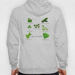 Colors: green (Los colores: verde) Hoody