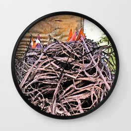 Spring Quartet Wall Clock