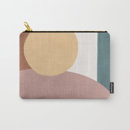 Abstract Earth 1.1 - Painted Shapes Carry-All Pouch