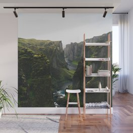 Iceland Green Nature Wall Mural