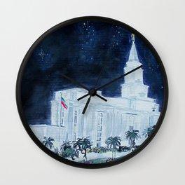 Guayaquil Ecuador LDS Temple Wall Clock