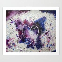 Galaxy of Love Art Print