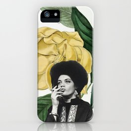 kathleen cleaver iPhone Case