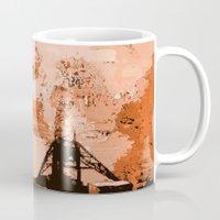 led zeppelin Mugs featuring Zeppelin by Avigur