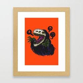 Grim Reapersaur Framed Art Print