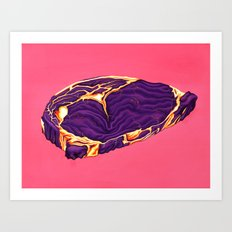 Ribeye Art Print