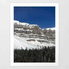 Wyoming Winter Art Print