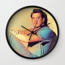 Rock Hudson, Actor Wall Clock