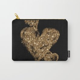 Triple Hearts Carry-All Pouch