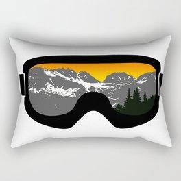 Sunset Goggles 2 | Goggle Designs | DopeyArt Rectangular Pillow
