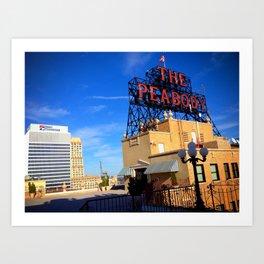 The Peabody Memphis Art Print