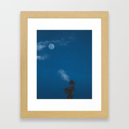 Dance with the Wolves Framed Art Print