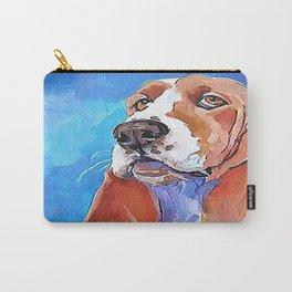 Humphrey The Basset Hound Carry-All Pouch