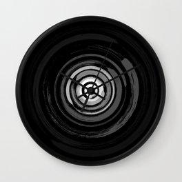 Enso Circles - Zen Circles #2 Wall Clock