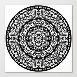 Egyptian Inspired Mandala Canvas Print