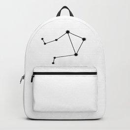 Libra Astrology Star Sign Minimal Backpack