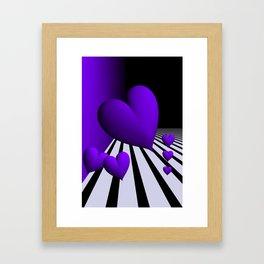 go violet -13- Framed Art Print
