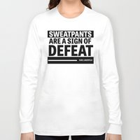 karl lagerfeld Long Sleeve T-shirts featuring Karl Lagerfeld Quote by Thompson ET Julienne