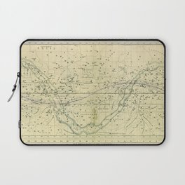 A Celestial Planisphere or Map of The Heavens Laptop Sleeve