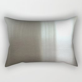 Industrial Brushed Stainless Rectangular Pillow