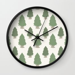 Cut your own Christmas tree (Patterns Please) Wall Clock