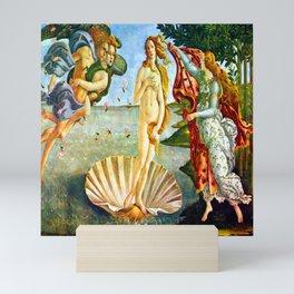 Botticelli The Birth of Venus Mini Art Print