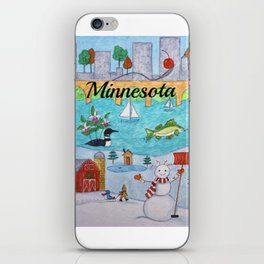 Minnesota iPhone Skin