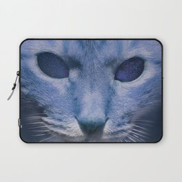 Space Cat's Eye Laptop Sleeve