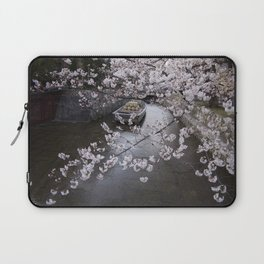cherry blossoms in Japan Laptop Sleeve