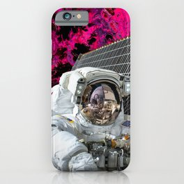 pink stars iPhone Case