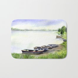 Boats Bath Mat
