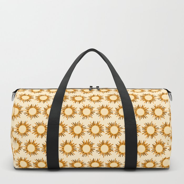 Art Deco Starburst Duffle Bag