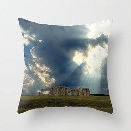 Stonehenge I Throw Pillow
