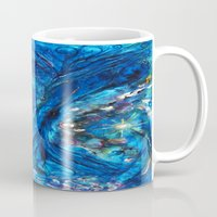 fairies Mugs featuring Fairies Paradise by Lily Nava Gallery Fine Art and Design