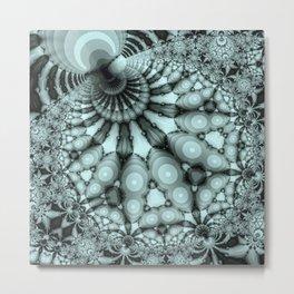 Frostwork Metal Print