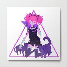 unHOLY   neon Metal Print