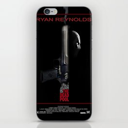 The Dead Pool iPhone Skin