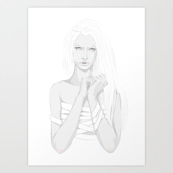 Bondage Art Print