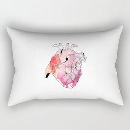 Pumping Heart Rectangular Pillow