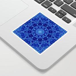 Ocean of Light Mandala Sticker