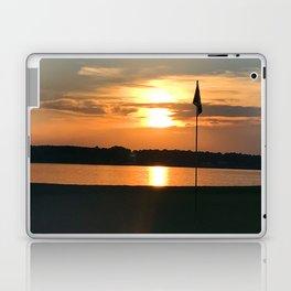 Bathe The Flag Laptop & iPad Skin
