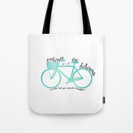 Embrace the Detours Tote Bag