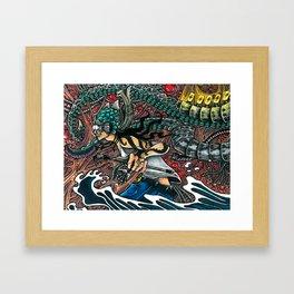 avatar Méka-Drepth Framed Art Print