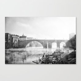 750 years bridge Canvas Print