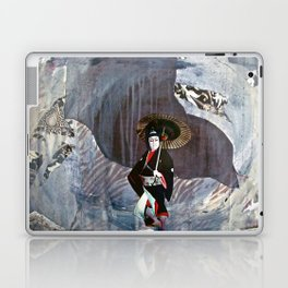 Out of the Cave, Into the Storm, the Hero Prepares for the Next Battle Laptop & iPad Skin