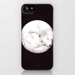 The Howl of the Moon iPhone Case