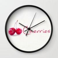 breakfast Wall Clocks featuring Breakfast by Felicia Caravaca