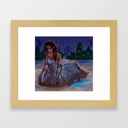 At the Ball Framed Art Print