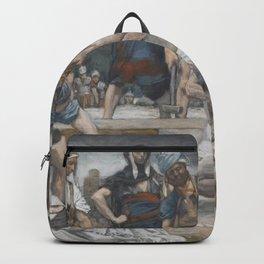 James Tissot - The Vase of Myrrh and Gall Backpack