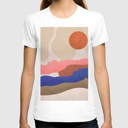 Find Me Where The Sunset #art print#illustration T-shirt